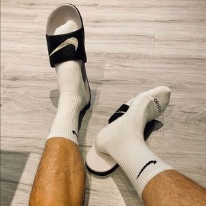 Nike dri-fit running socks.